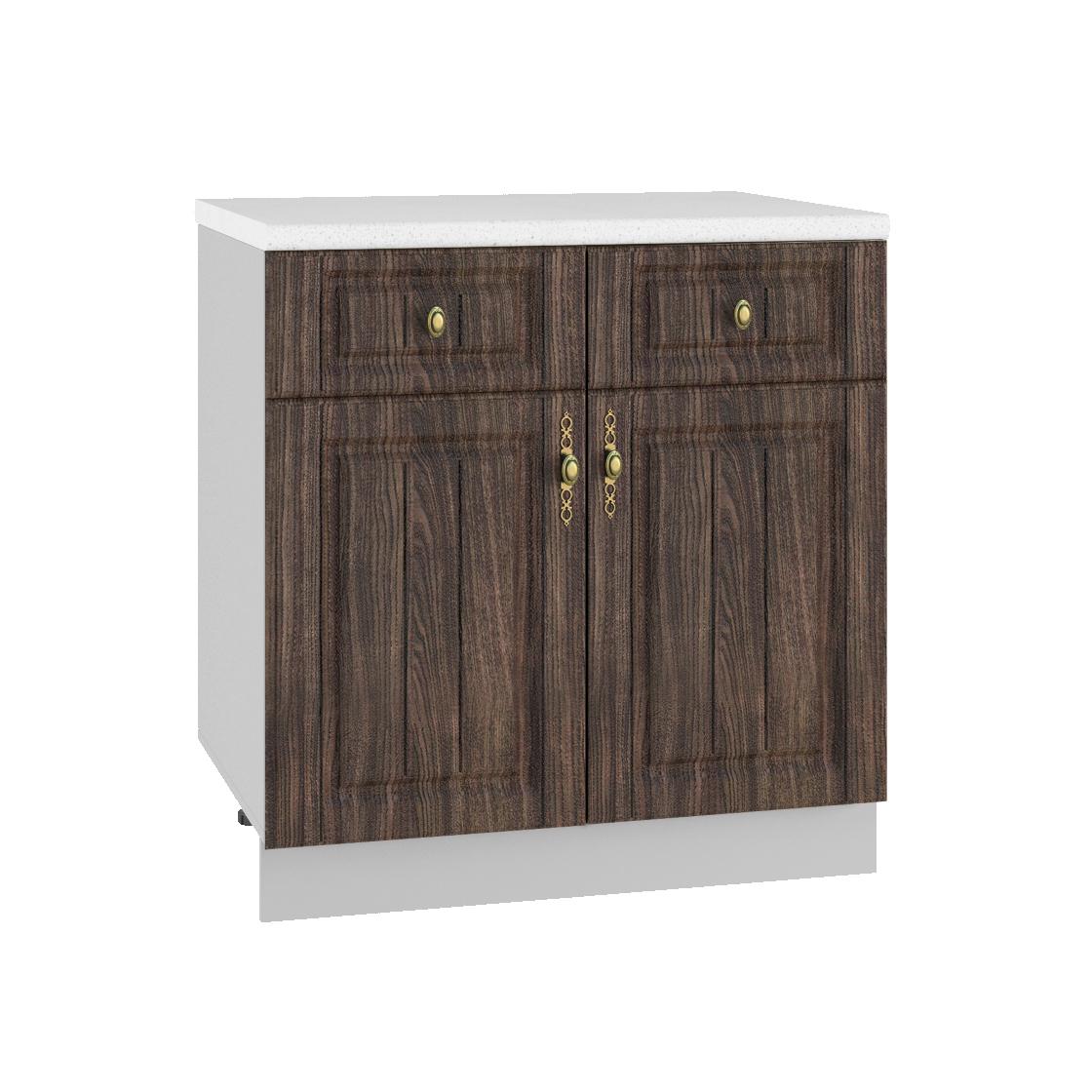 Кухня Империя С2Я 800 Шкаф нижний /2 ящика