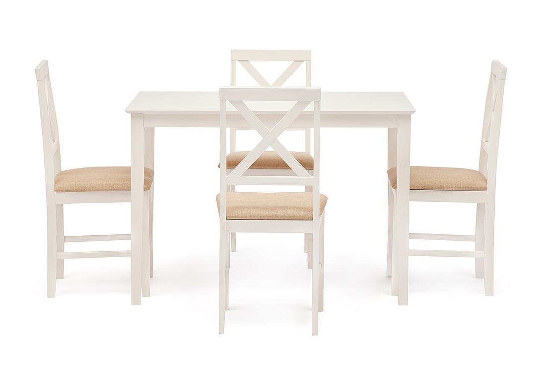 Обеденный комплект Хадсон / стол + 4 стула