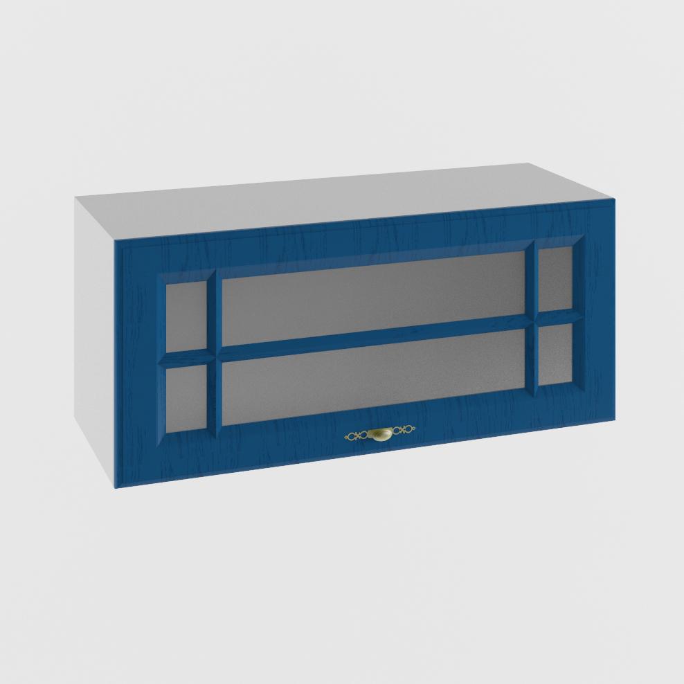Кухня Гранд ПГС 800 Шкаф верхний горизонтальный стекло