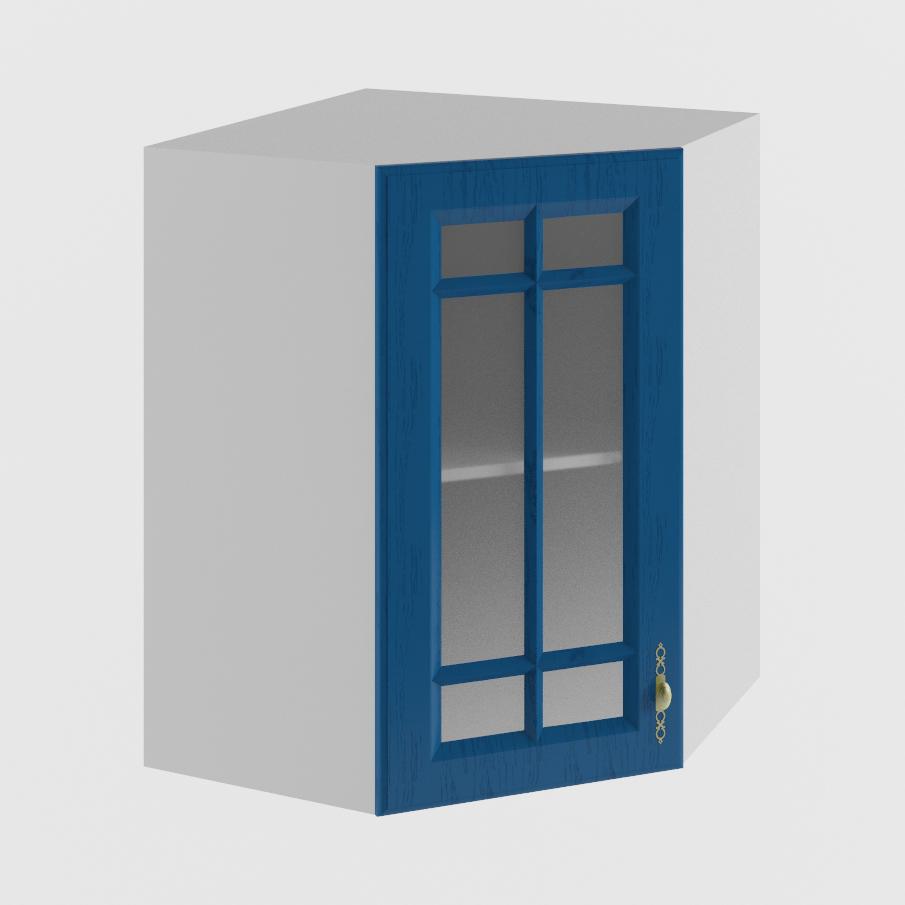 Кухня Гранд ПУC 550 Шкаф верхний угловой стекло