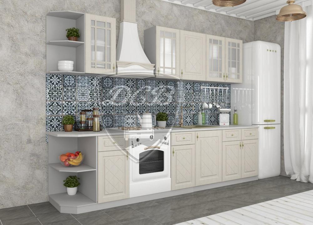 Кухня Гранд ПУ 600 Шкаф верхний угловой