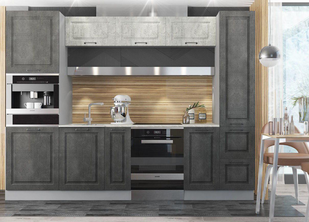 Кухня Капри ПТУ 300 Полки верхние торцевый