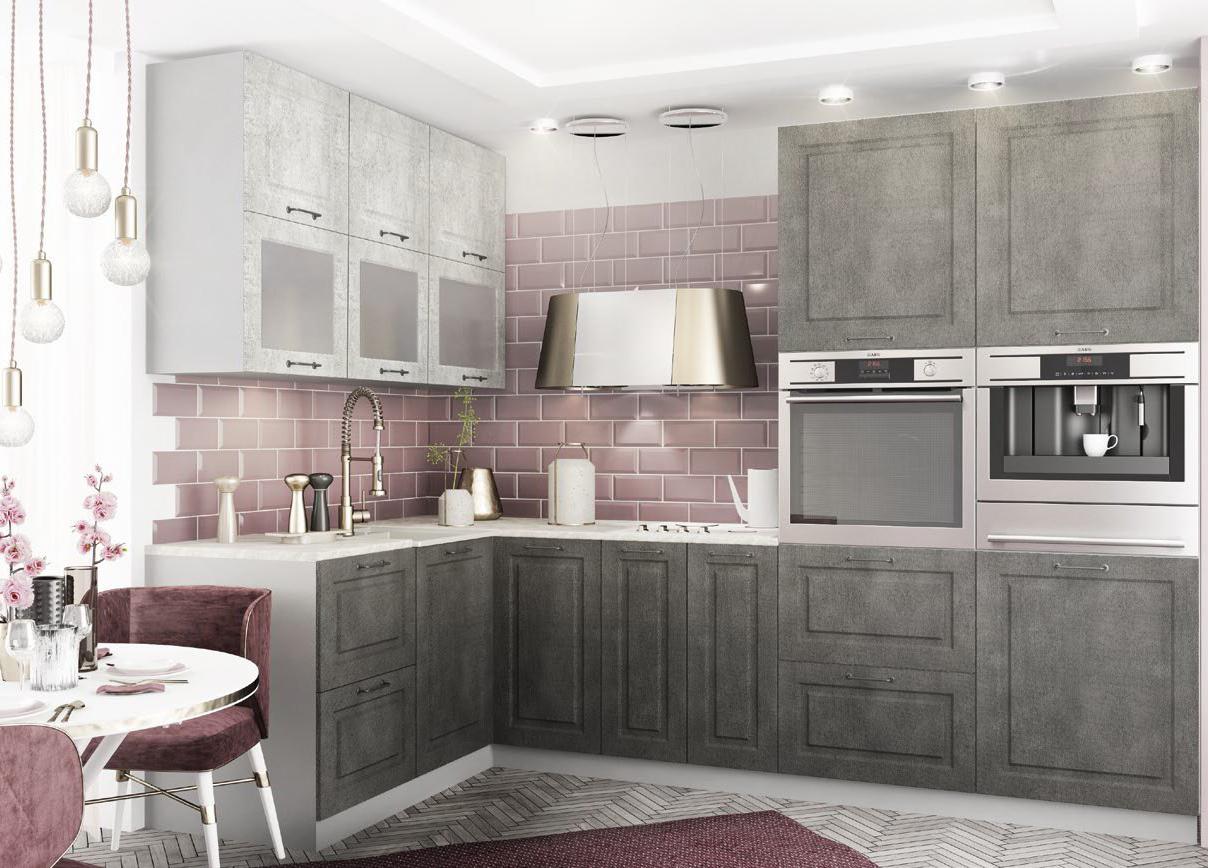 Кухня Капри СТУ 300 Полки нижние торцевые