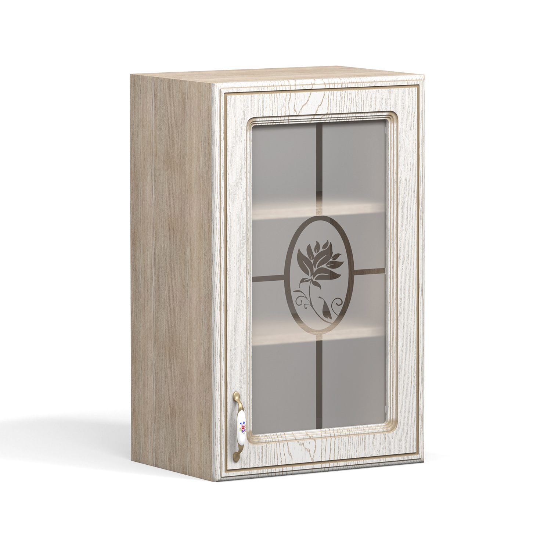 Кухня Анжелика Шкаф навесной ШКН-450 В стекло