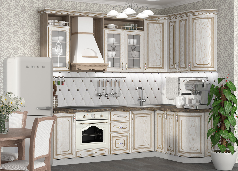 Кухня Анжелика Шкаф навесной ШКН-500