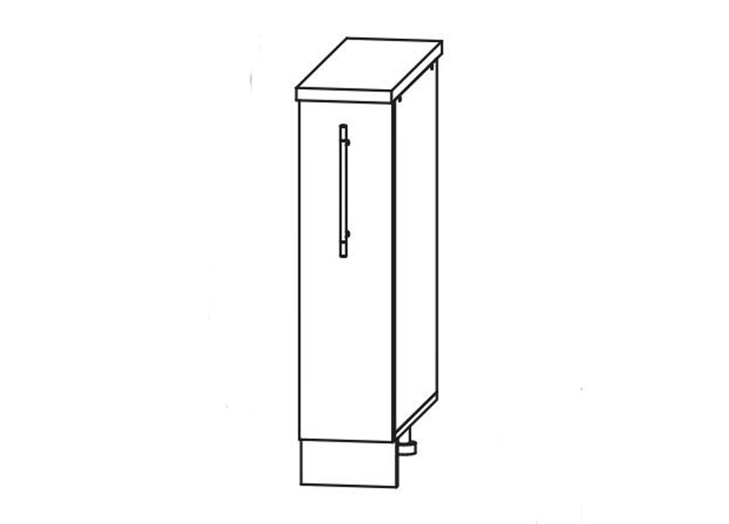 Кухня Лиза-2  Корпус нижний ШН 150