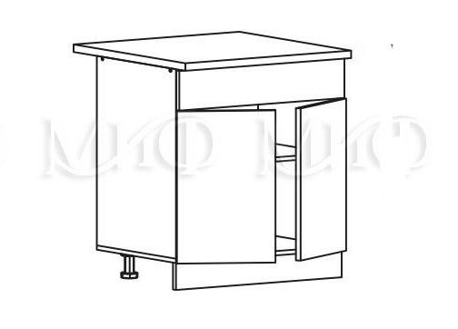 Кухня Лиза-2  Корпус нижний ШН1Я 600