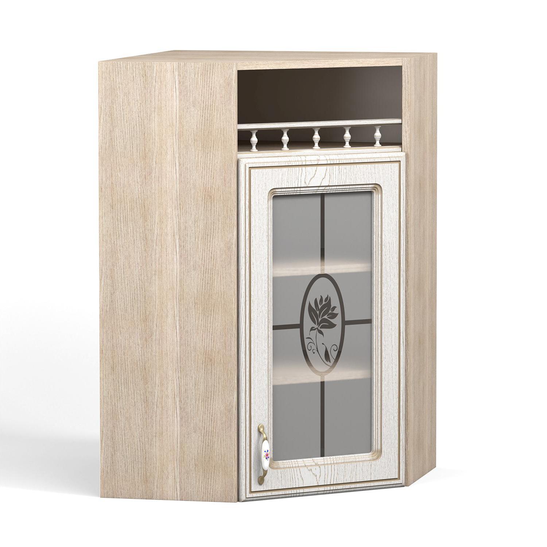 Кухня Анжелика Шкаф навесной ШКН-600 УТПВ угловой