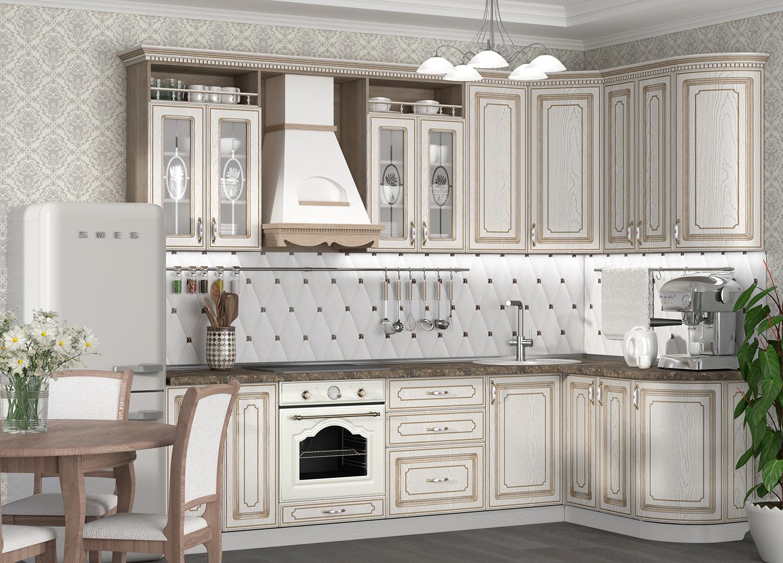 Кухня Анжелика Шкаф навесной ШКН-320У