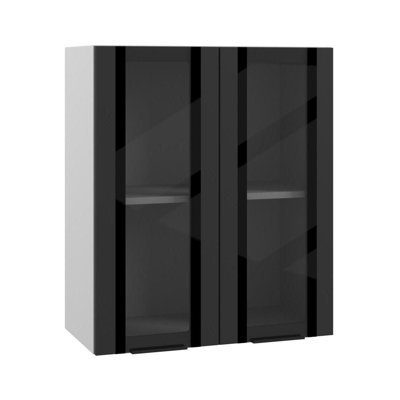 Кухня Квадро ПВС 600 Шкаф верхний стекло