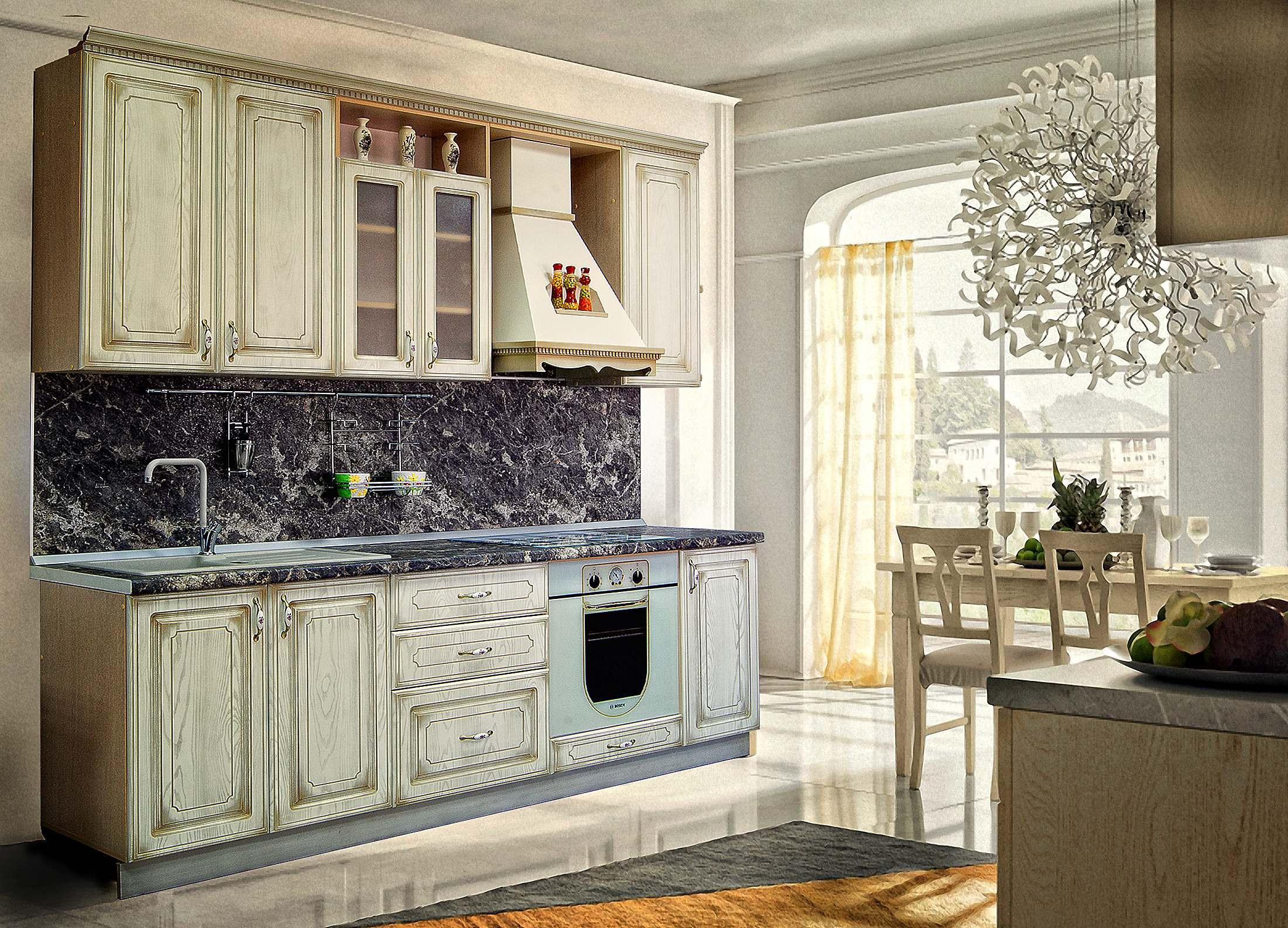 Кухня Анжелика Шкаф навесной ШКН-400