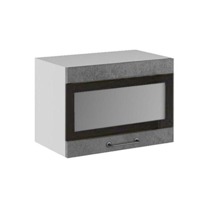 Кухня Лофт ПГСФ  500 Шкаф верхний горизонтальный стекло