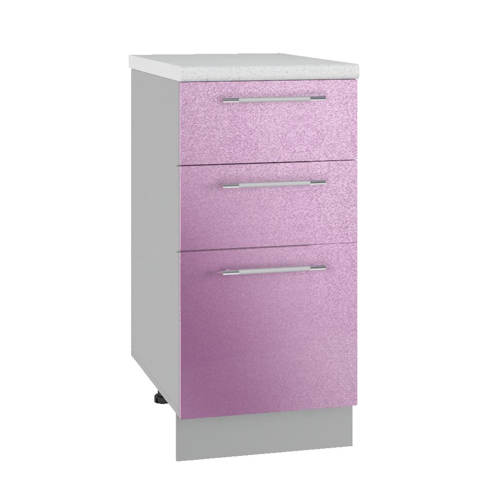 Кухня Флора СМЯ 400 Шкаф нижний ящики с метабоксами