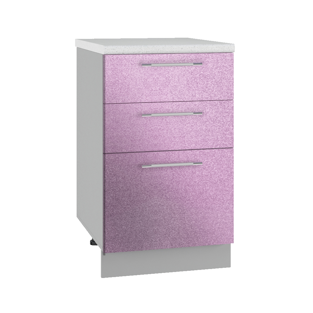 Кухня Флора СМЯ 500 Шкаф нижний ящики с метабоксами