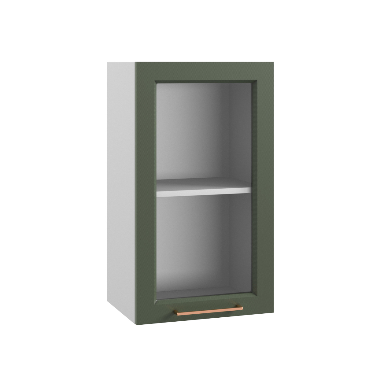 Кухня Квадро ПС 400 Шкаф верхний стекло