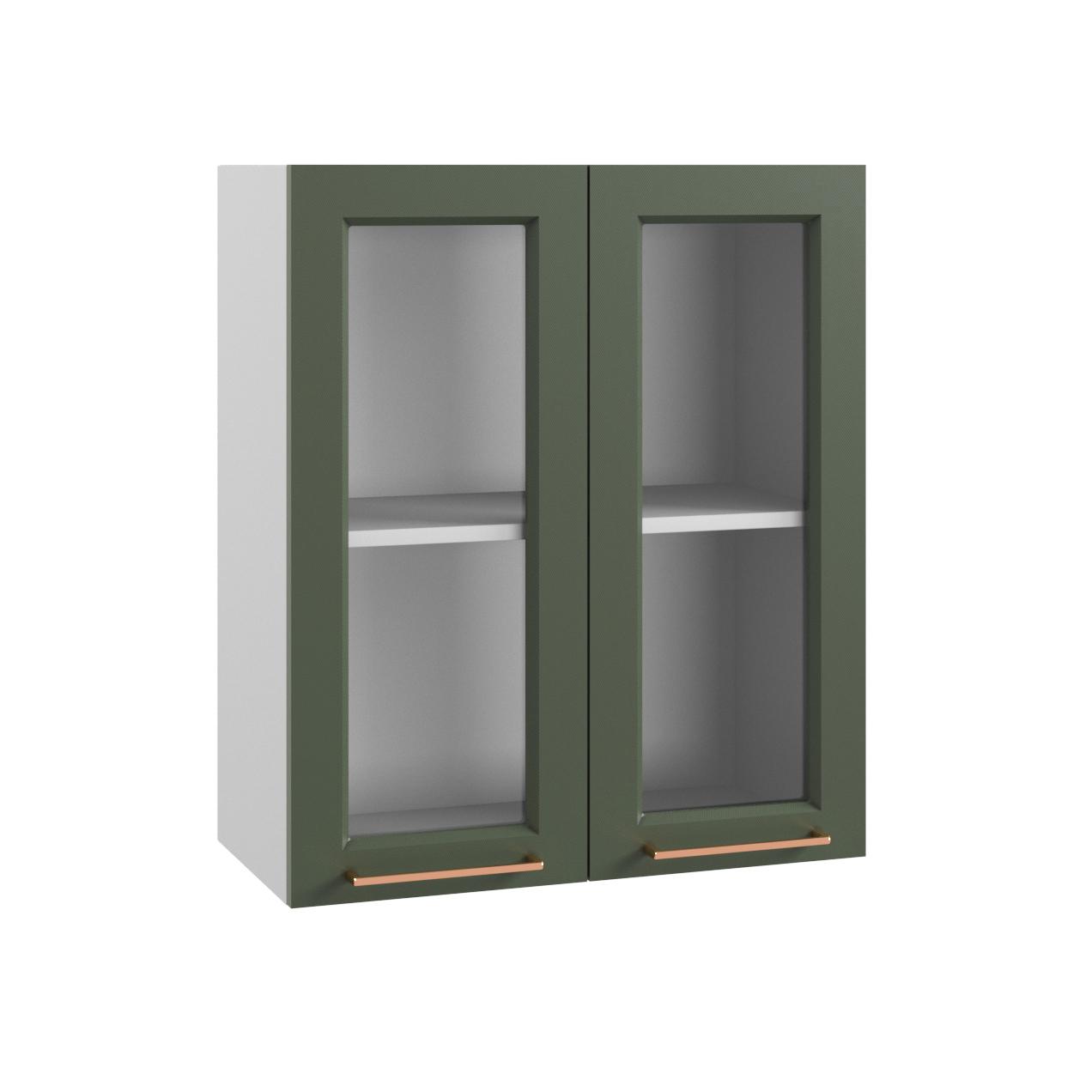 Кухня Квадро ПС 600 Шкаф верхний стекло