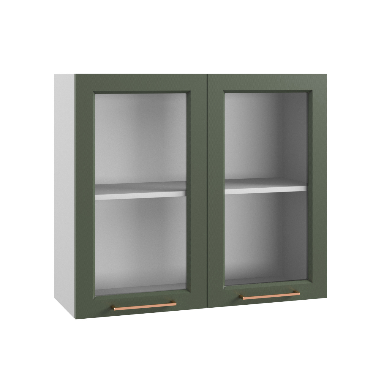Кухня Квадро ПС 800 Шкаф верхний стекло