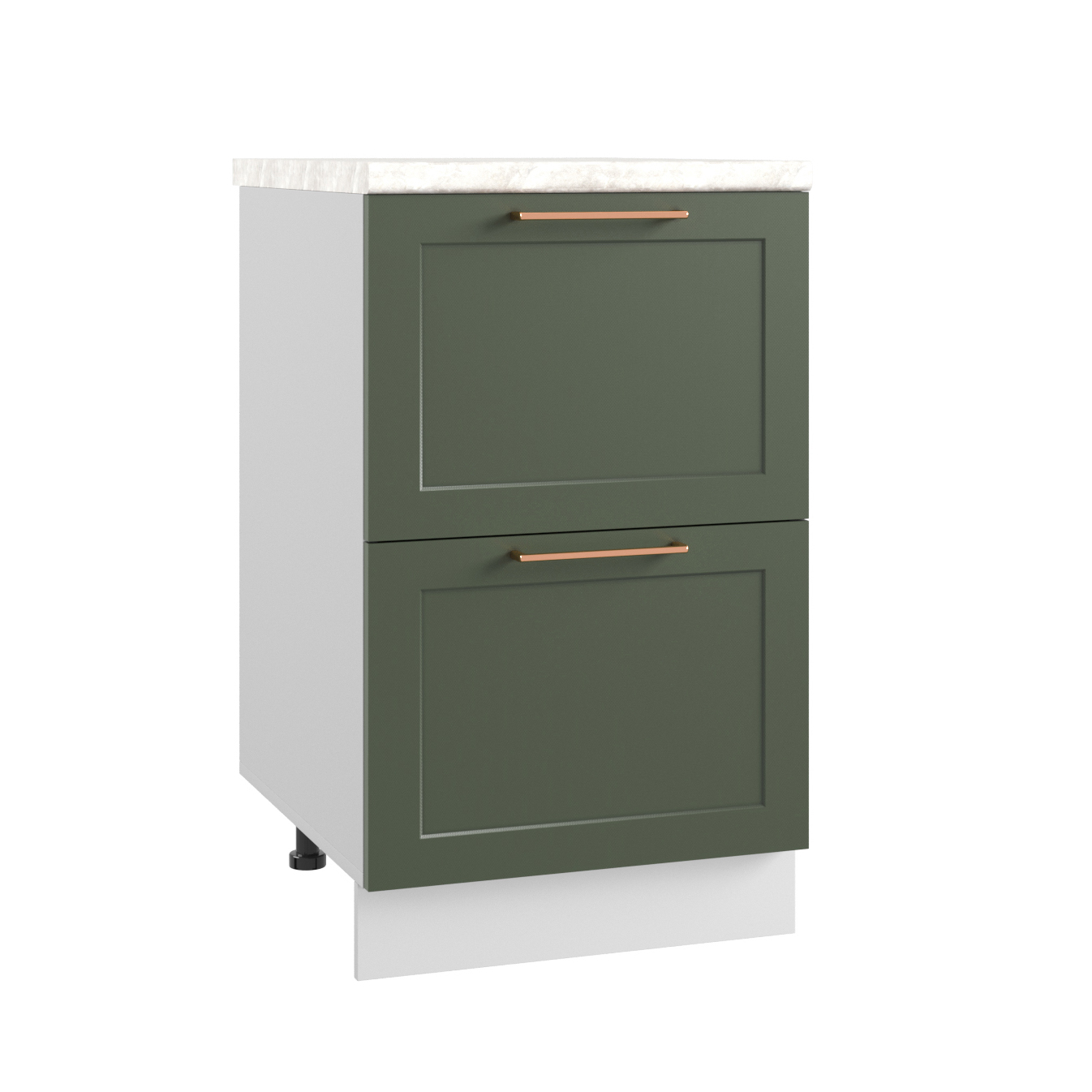 Кухня Квадро КМЯ 500 Шкаф нижний ящики с метабоксами