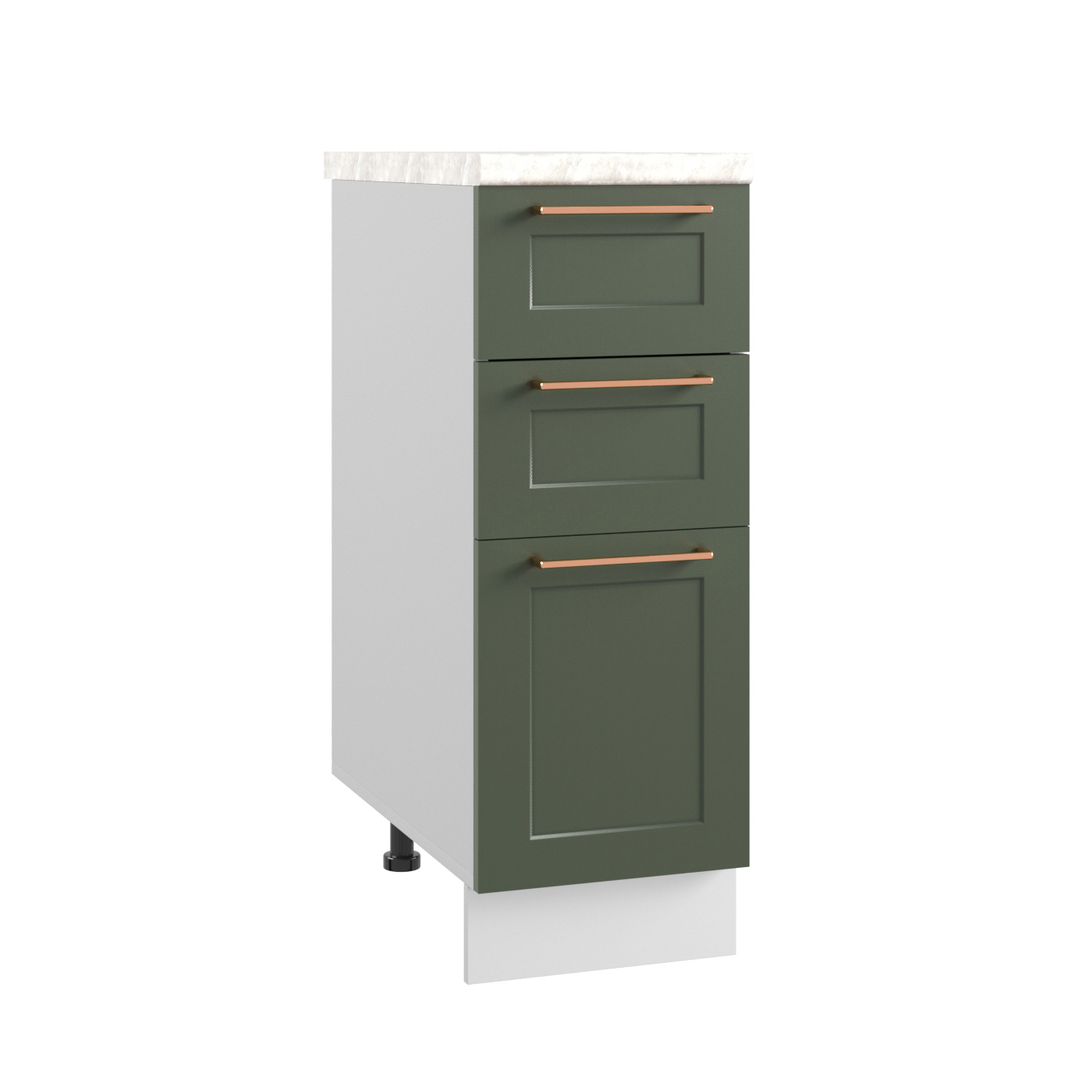 Кухня Квадро СМЯ 300 Шкаф нижний ящики с метабоксами