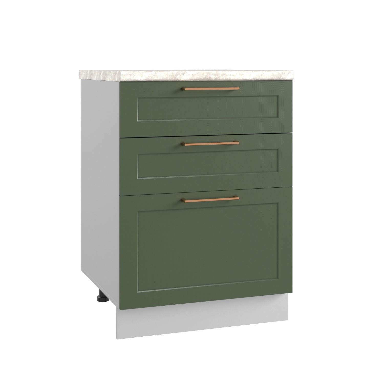 Кухня Квадро СМЯ 600 Шкаф нижний ящики с метабоксами