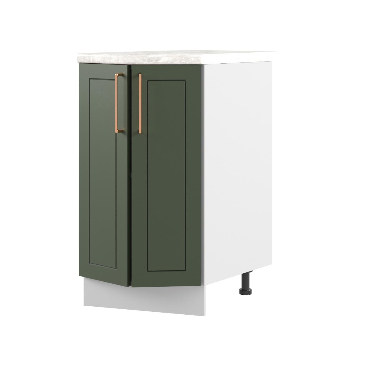 Кухня Квадро СТ 400 Шкаф нижний торцевой