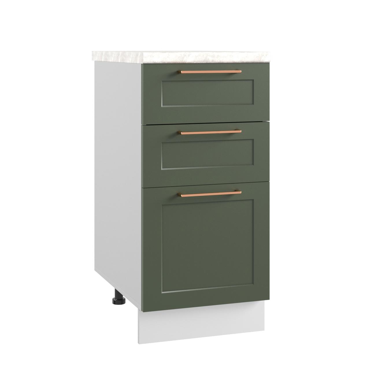 Кухня Квадро СЯ 400 Шкаф нижний с ящиками