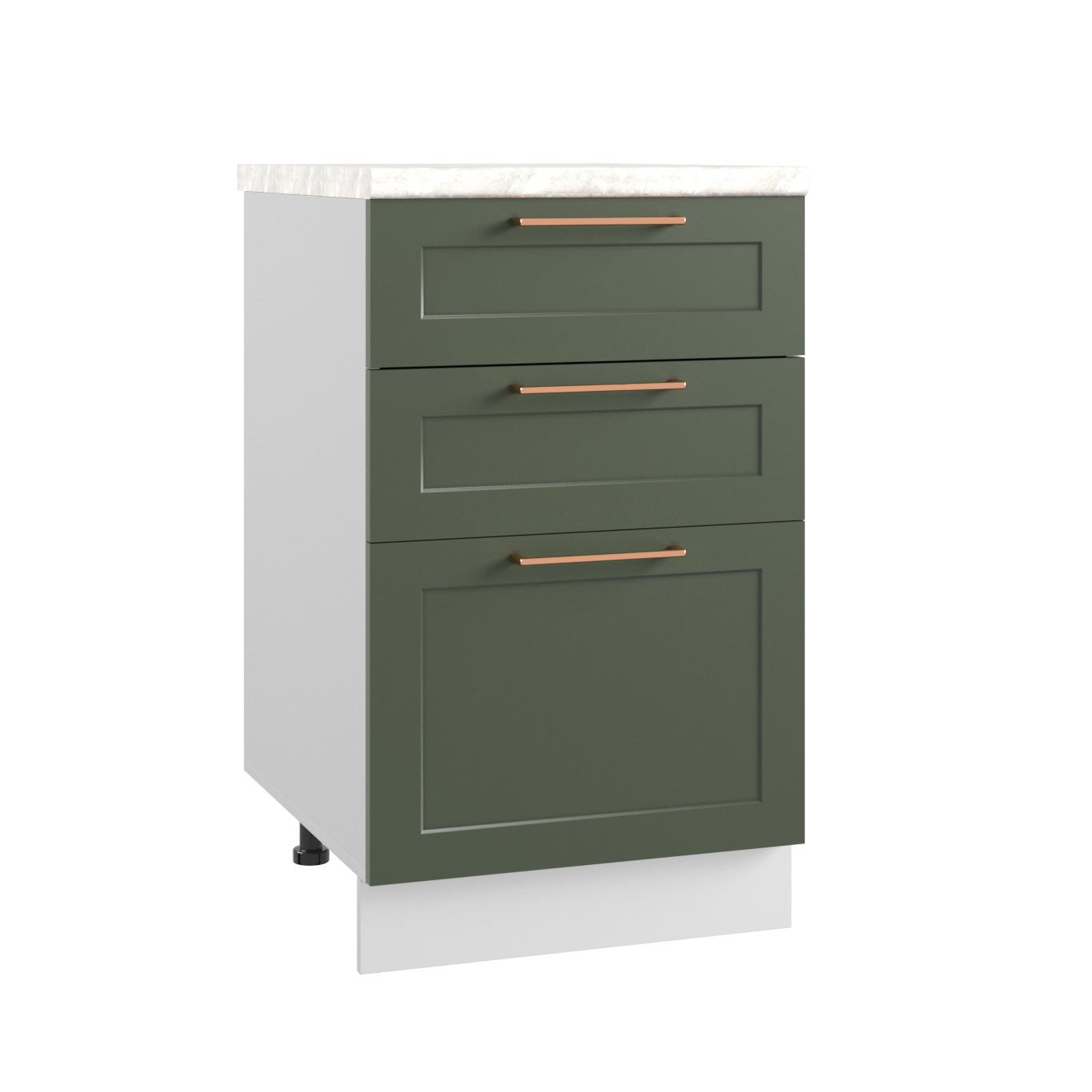 Кухня Квадро СЯ 500 Шкаф нижний с ящиками