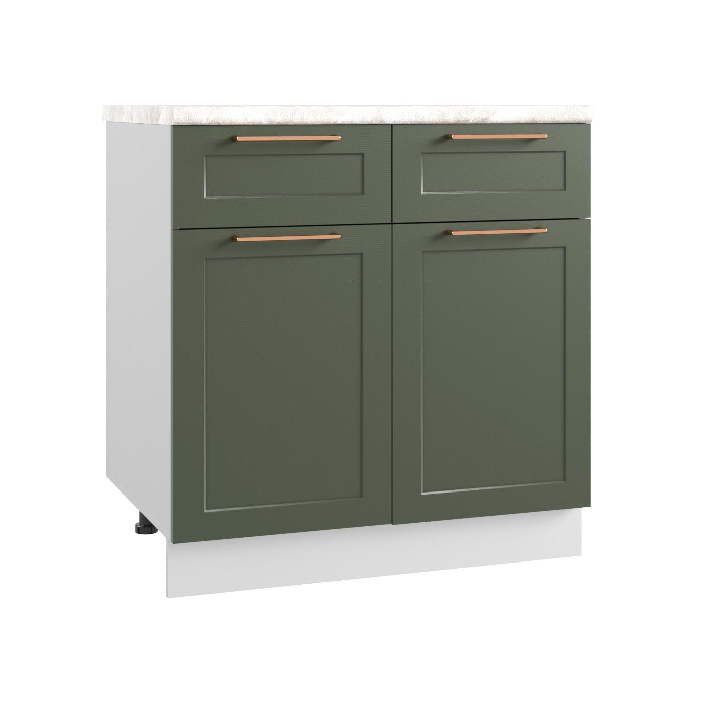 Кухня Квадро С2Я 800 Шкаф нижний с ящиками