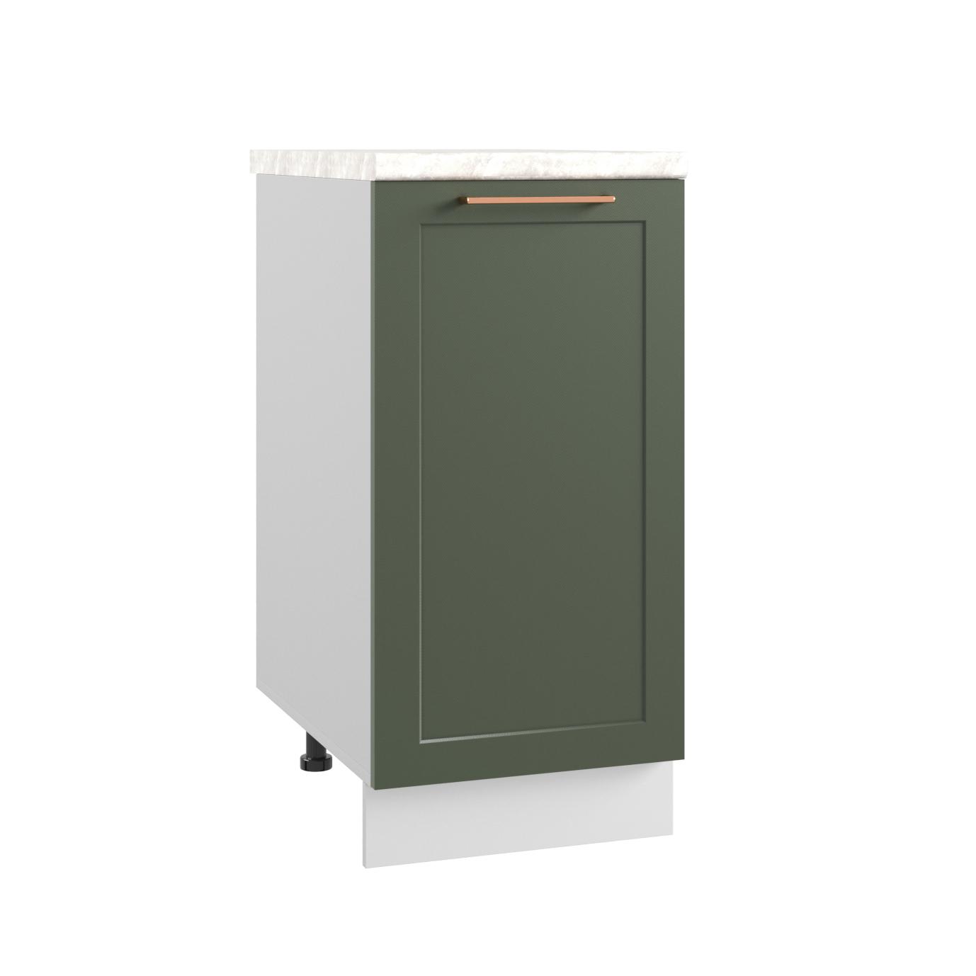 Кухня Квадро С 400 Шкаф нижний