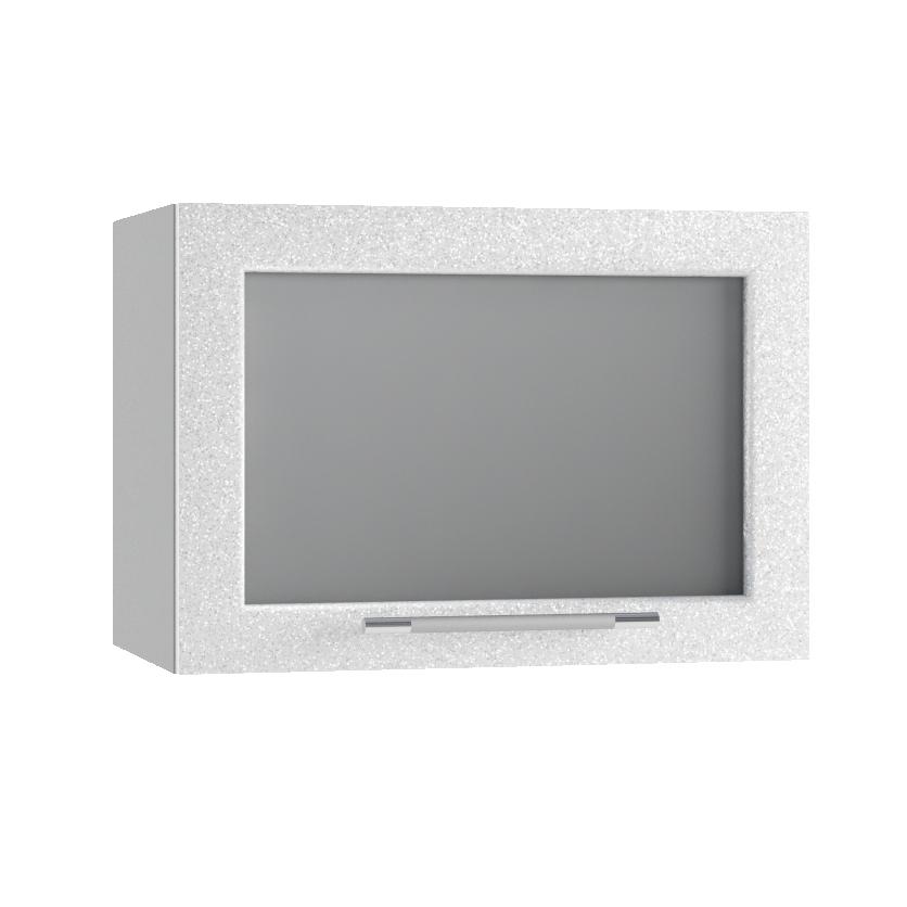 Кухня Олива ГПГС 500 Шкаф верхний  стекло глубина 574