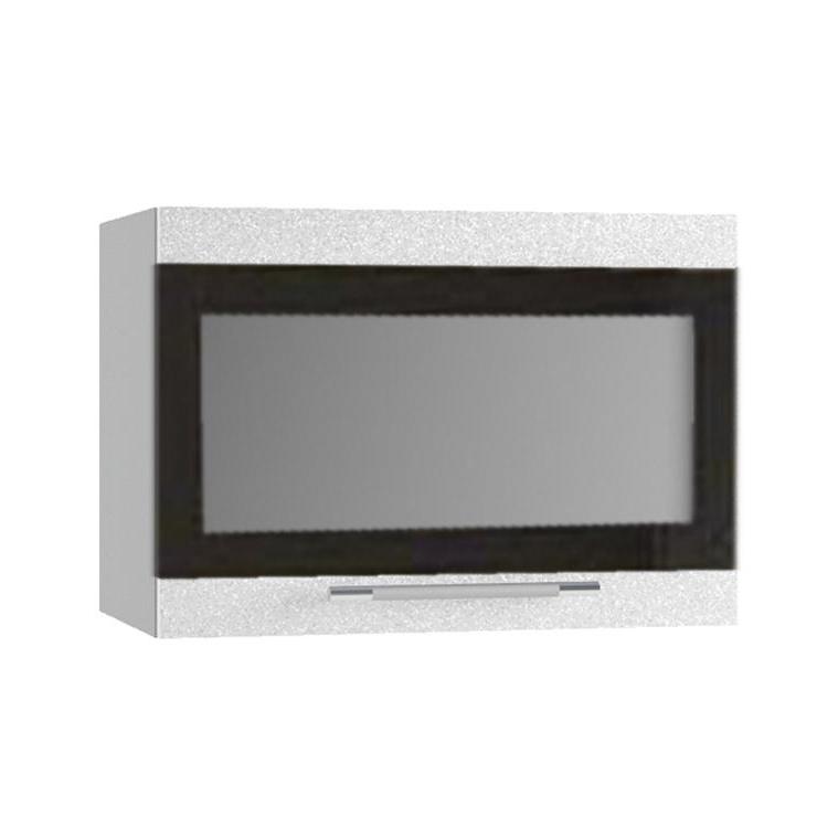 Кухня Олива ПГСФ 500 Шкаф верхний горизонтальный, стекло