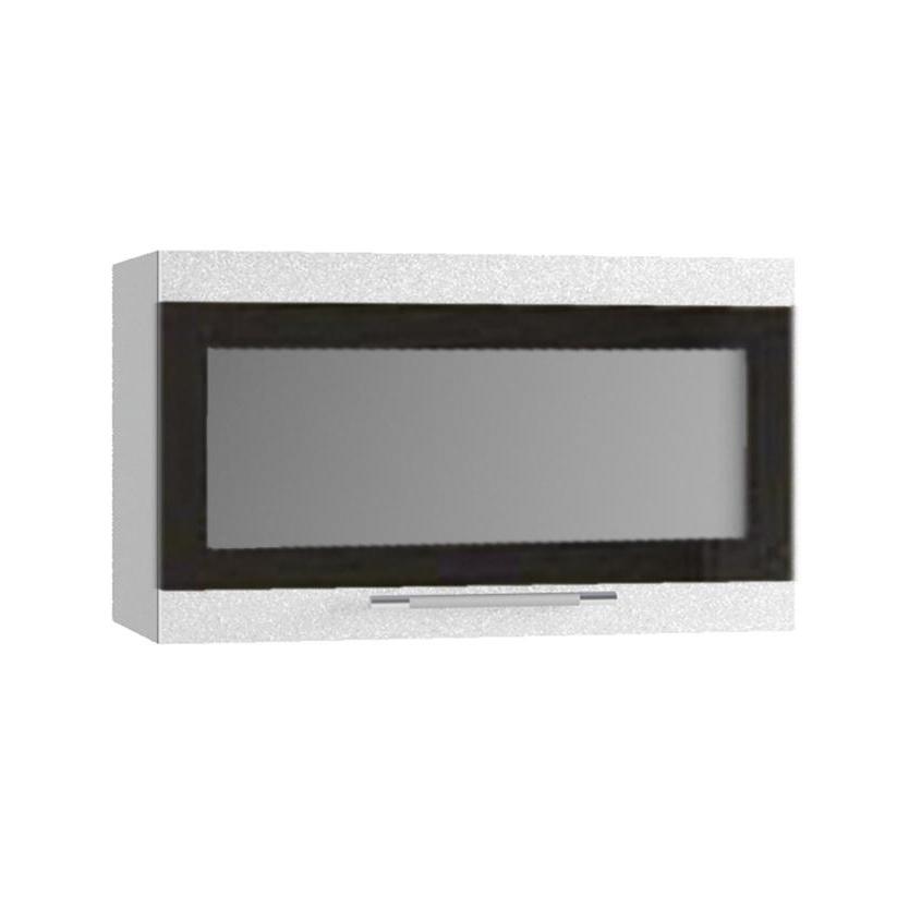 Кухня Олива ПГСФ 600 Шкаф верхний горизонтальный, стекло