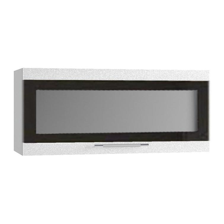 Кухня Олива ПГСФ 800 Шкаф верхний горизонтальный, стекло