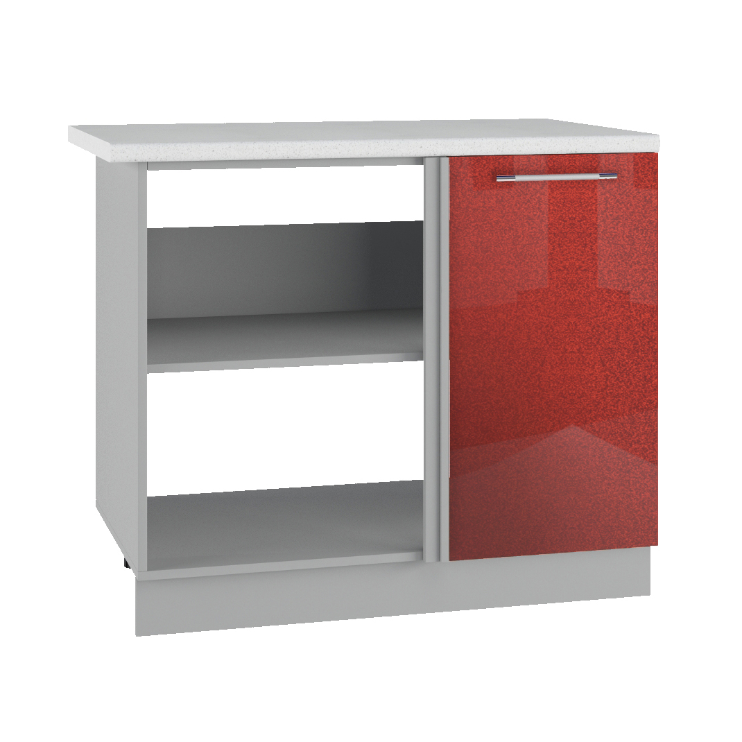Кухня Олива МСУ 1000 Шкаф нижний проходящий глубина 330