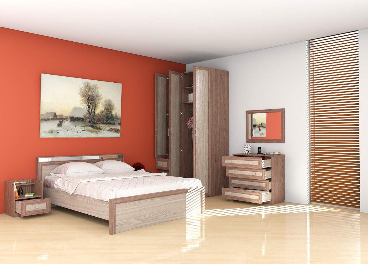 Аврора Кровать 800
