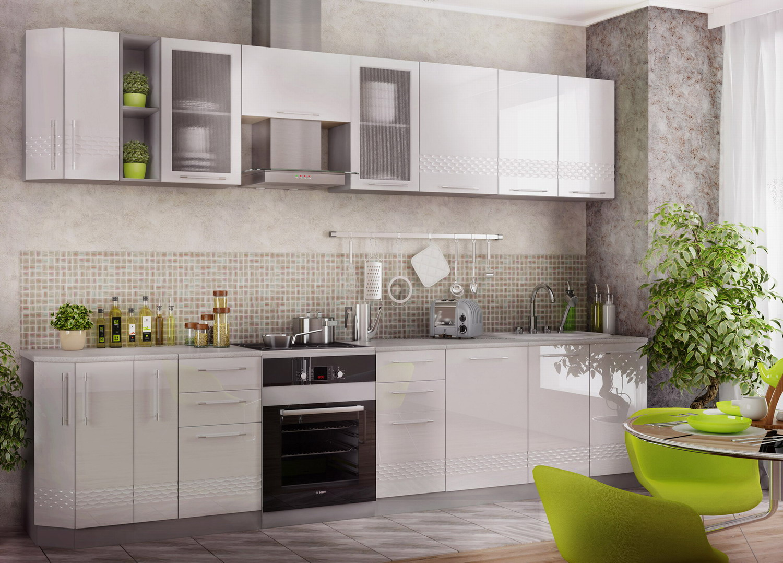 Кухня Капля 3D СМ 500 Шкаф нижний мойка петли справа