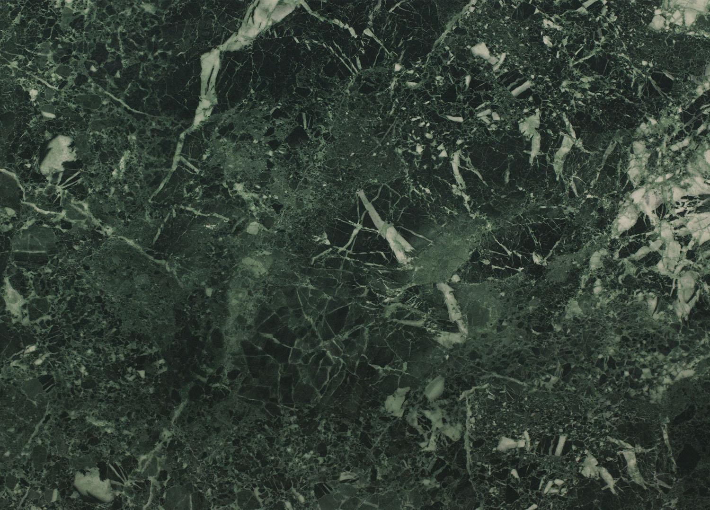Столешница № 27 Мрамор зелёный /глянец