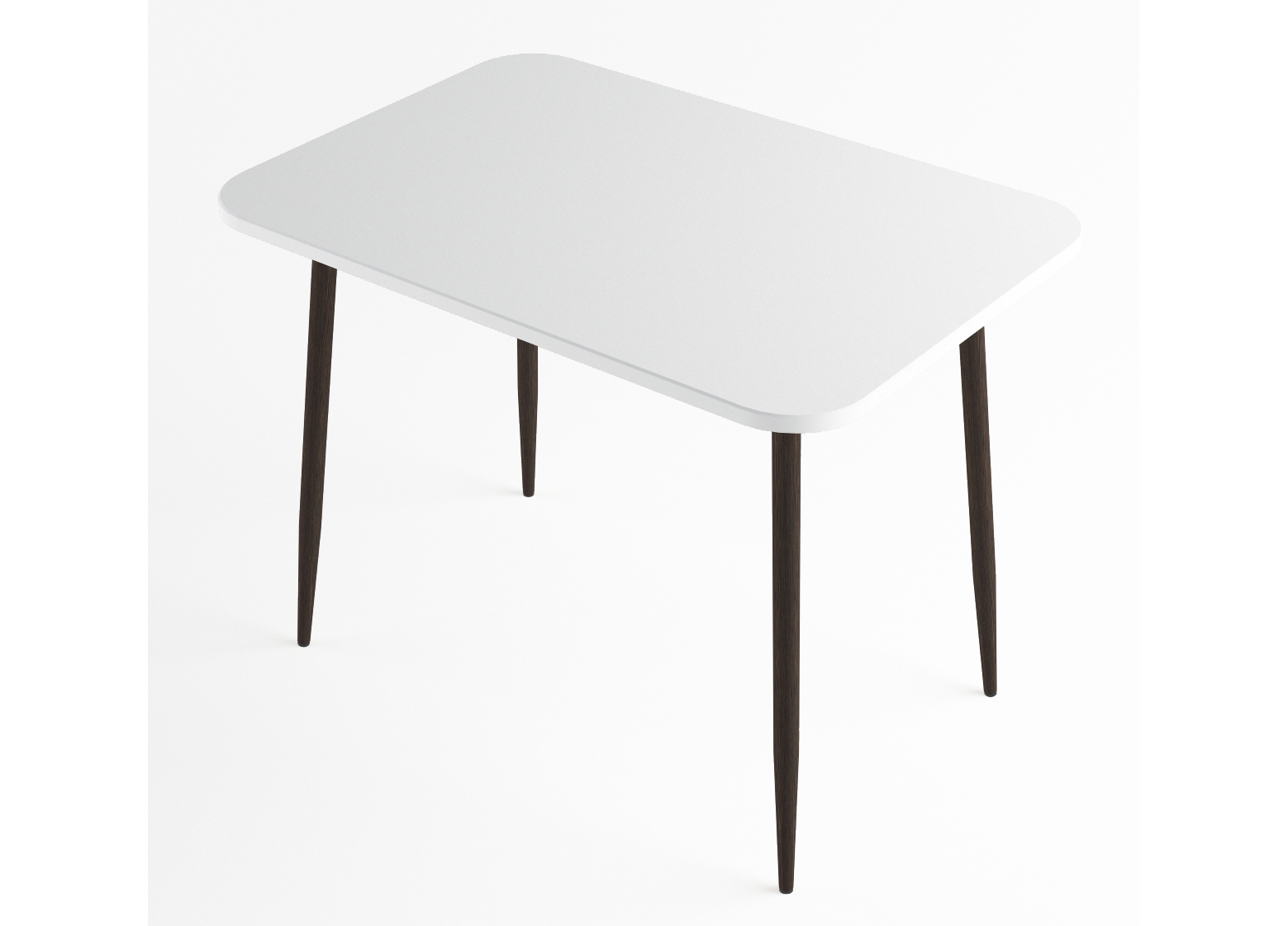 Стол обеденный Белый глянец МДФ