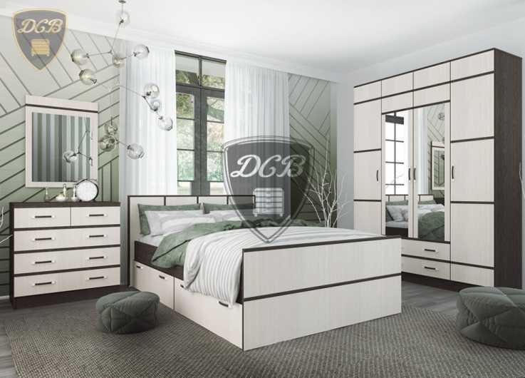 Кровать Весна с ящиками КРВ 1200.1