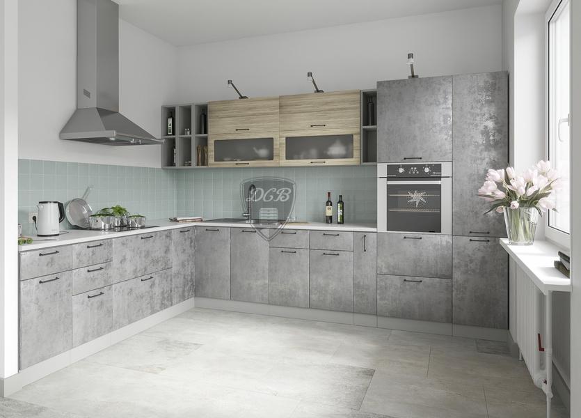 Кухня Лофт ПГ 500 Шкаф верхний горизонтальный