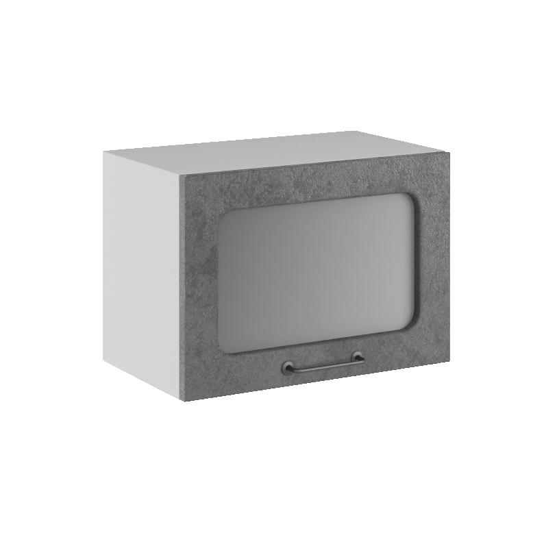 Кухня Лофт ПГС  500 Шкаф верхний горизонтальный стекло