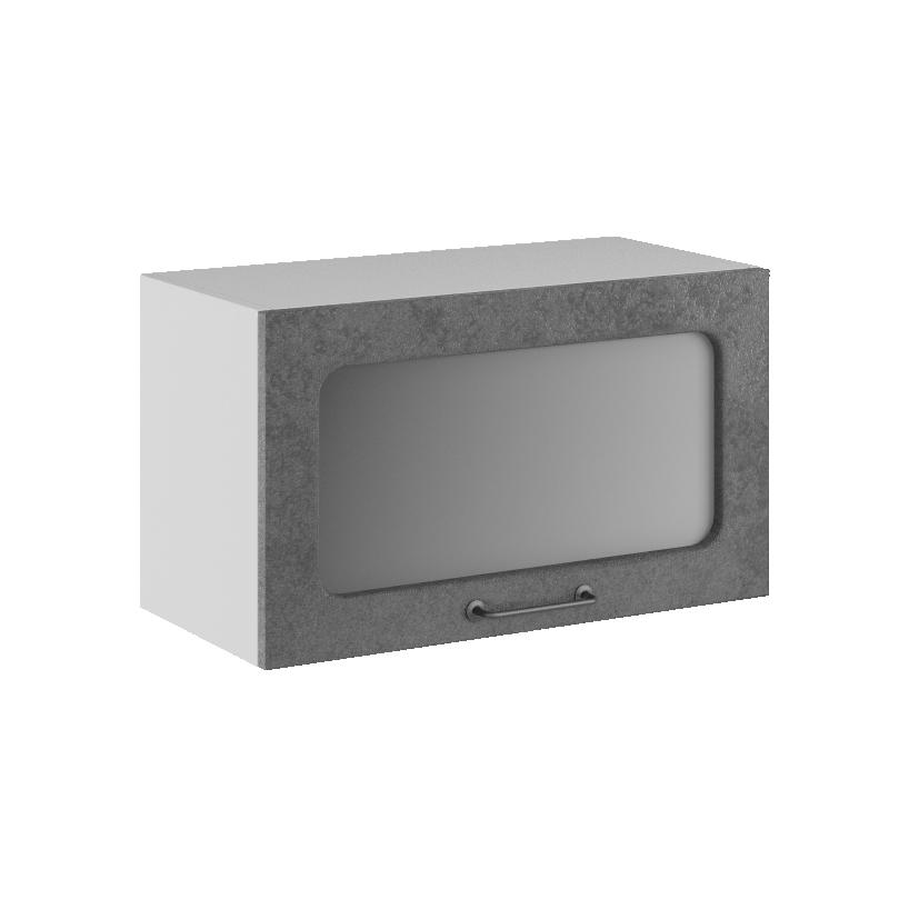 Кухня Лофт ПГС 600 Шкаф верхний горизонтальный стекло