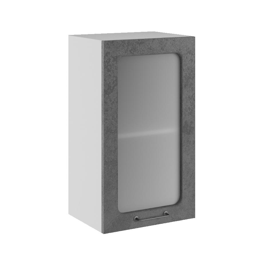 Кухня Лофт ПС 400 Шкаф верхний стекло