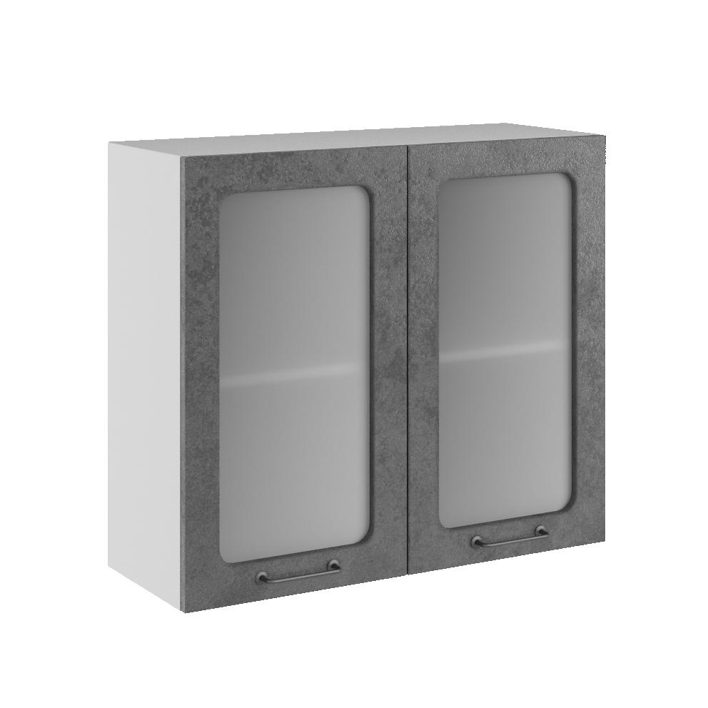 Кухня Лофт ПС 800 Шкаф верхний стекло