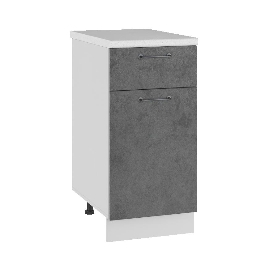 Кухня Лофт С1Я 400 Шкаф нижний с ящиком