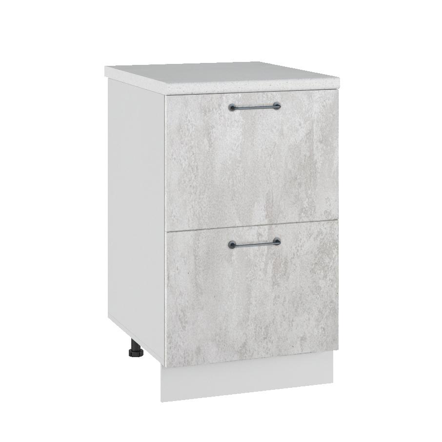 Кухня Лофт СК2 500 Шкаф нижний 2 ящика