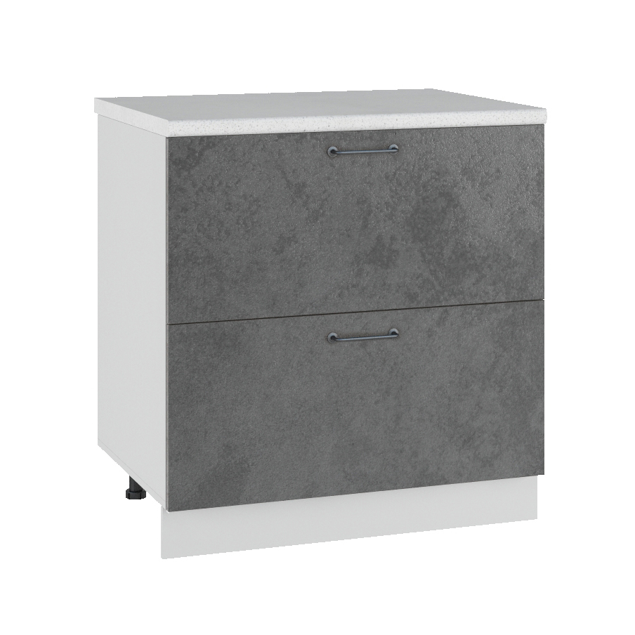 Кухня Лофт СК2 800 Шкаф нижний 2 ящика