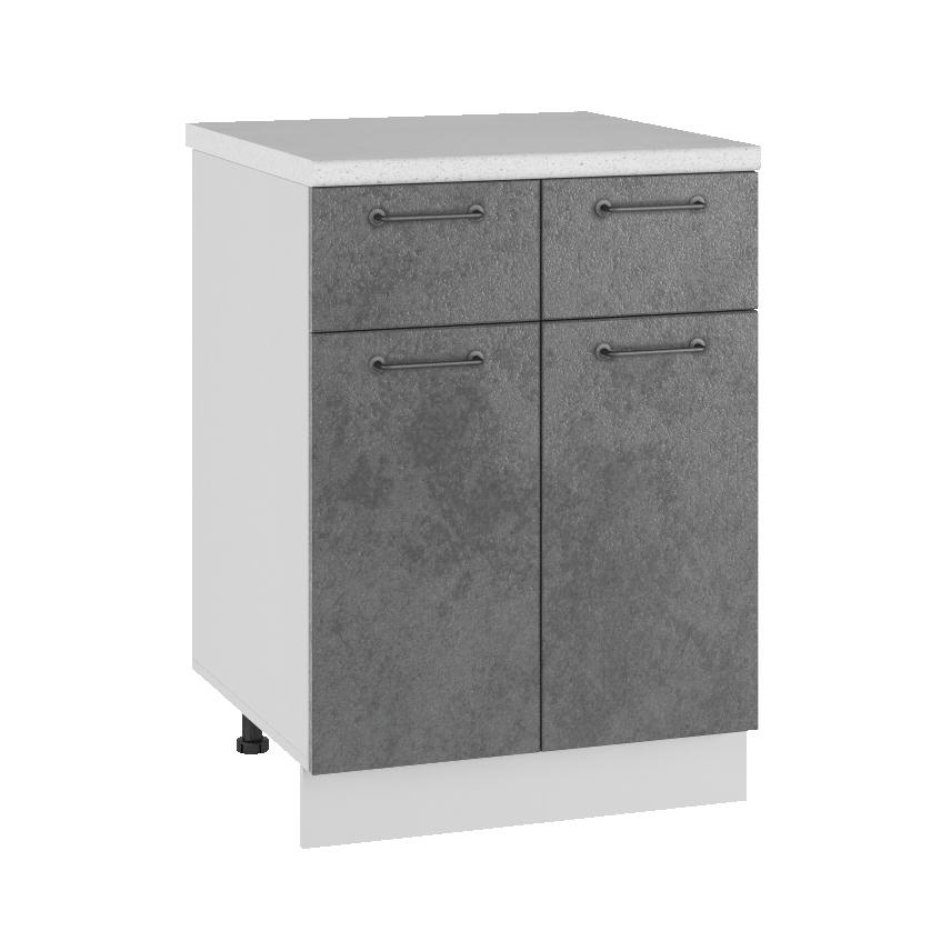 Кухня Лофт С2Я 600 Шкаф нижний с 2 ящиками
