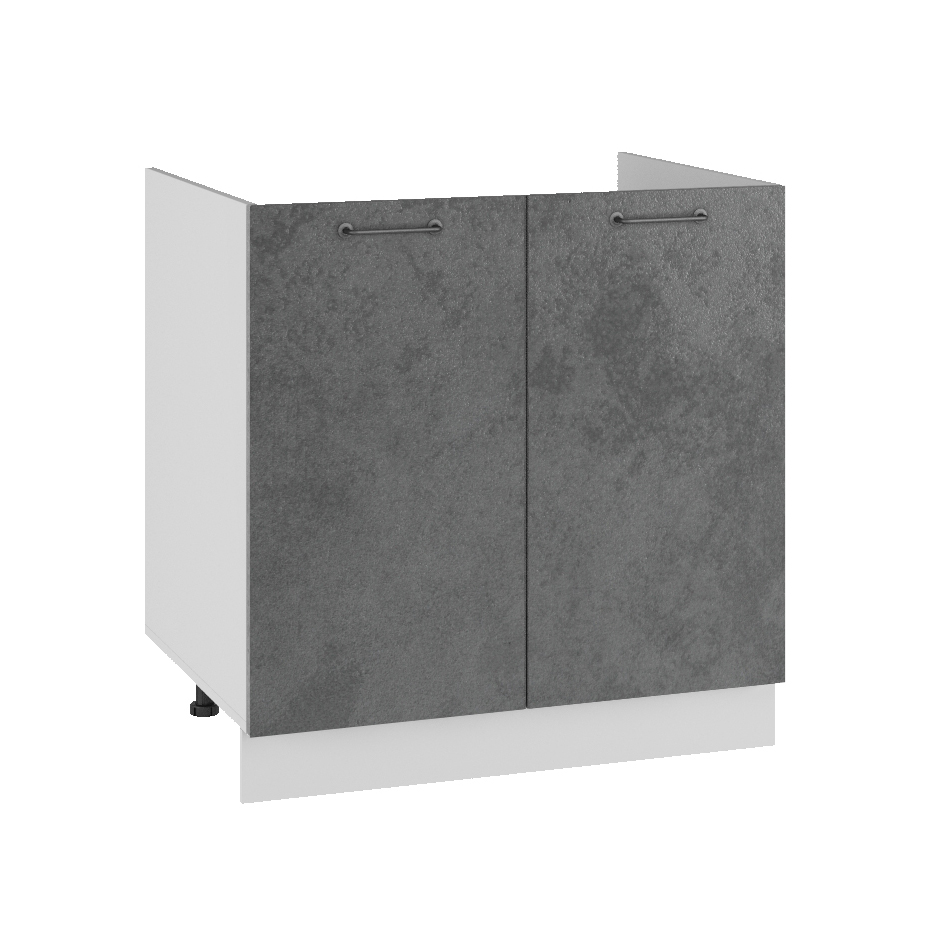 Кухня Лофт СМ 800 Шкаф нижний под мойку