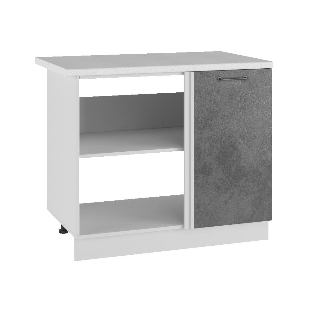 Кухня Лофт СУ 1000 Шкаф нижний угловой проходной